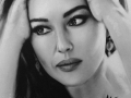 monica-belucci-portret-suchy-pedzel