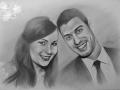 portret rysowany ołówkiem 9