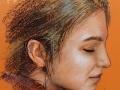 portret rysowany pastelami 1