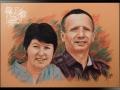 portret rysowany pastelami 2