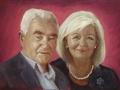 portret na zamówienie akryl na płótnie malarstwo 60 x 40 2