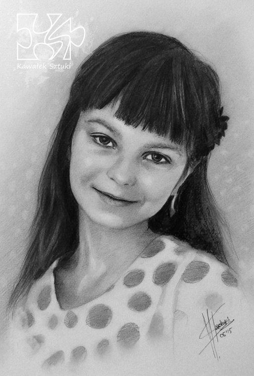 portret narysowany ołówkiem 3