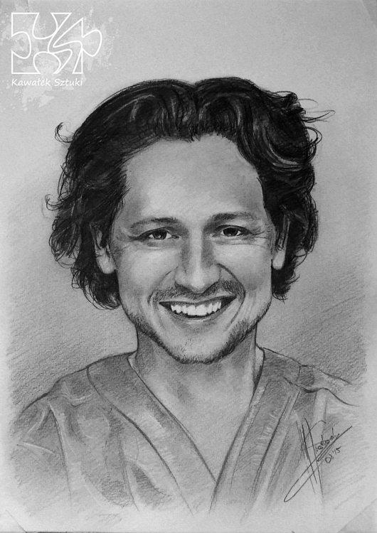 portret narysowany ołówkiem 6
