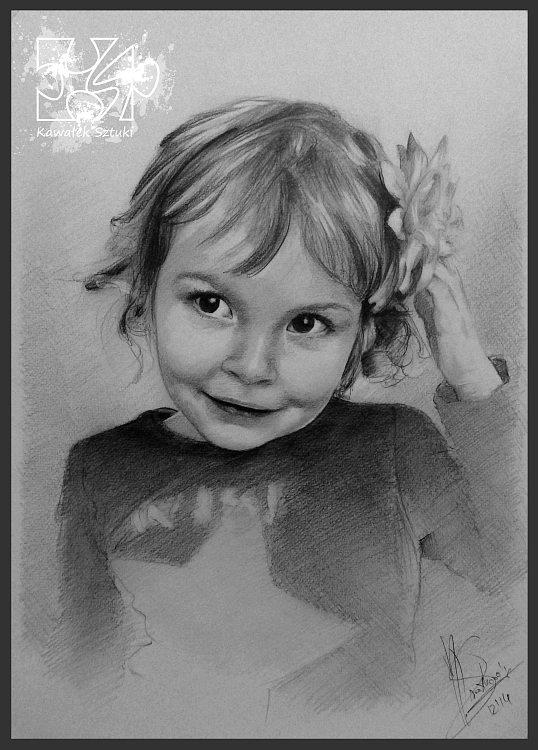 portret narysowany ołówkiem 19