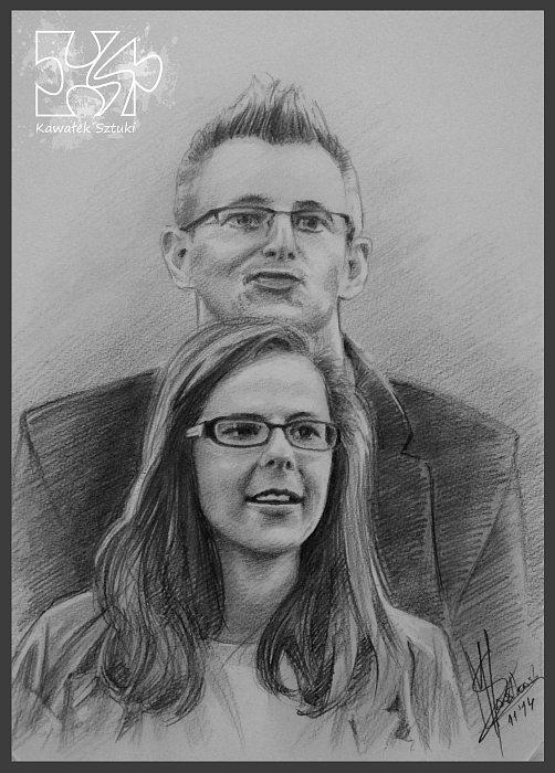 portret narysowany ołówkiem 20