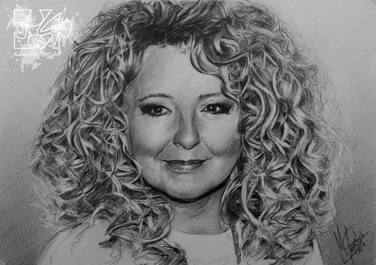 portret narysowany ołówkiem 21