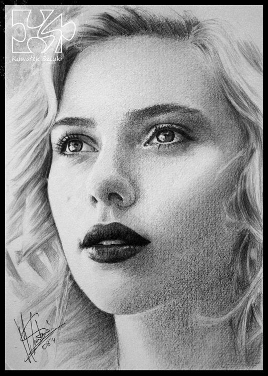 portret narysowany ołówkiem 23