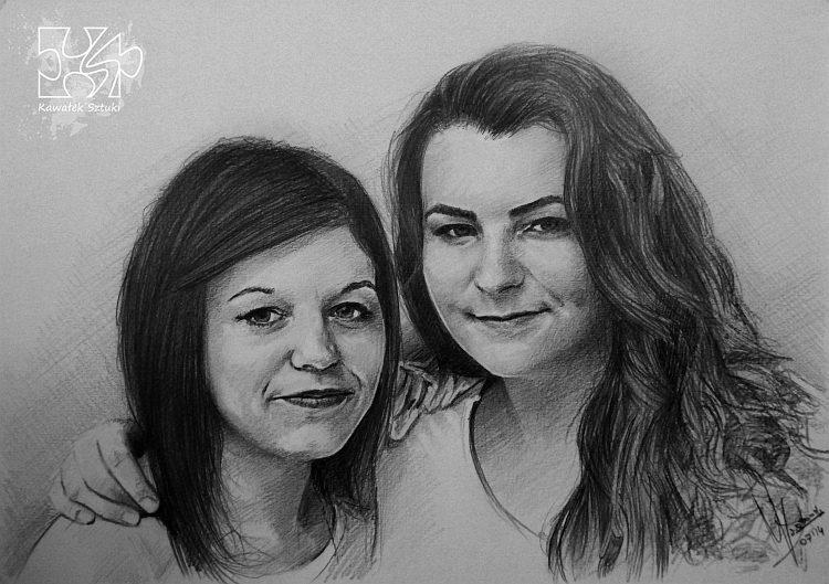 portret narysowany ołówkiem 27