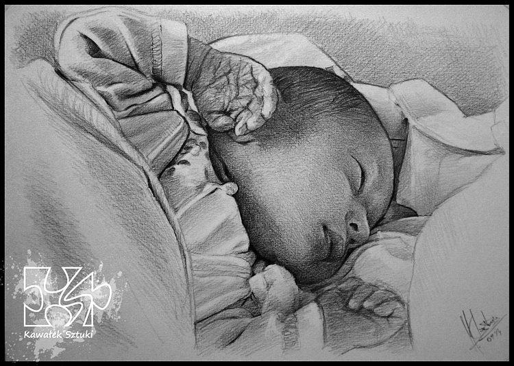 portret narysowany ołówkiem 28