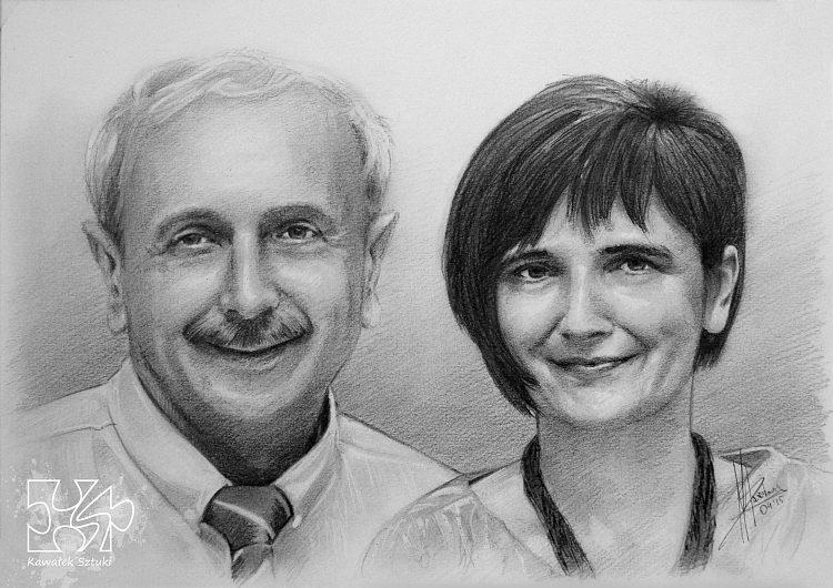 portret narysowany ołówkiem 31