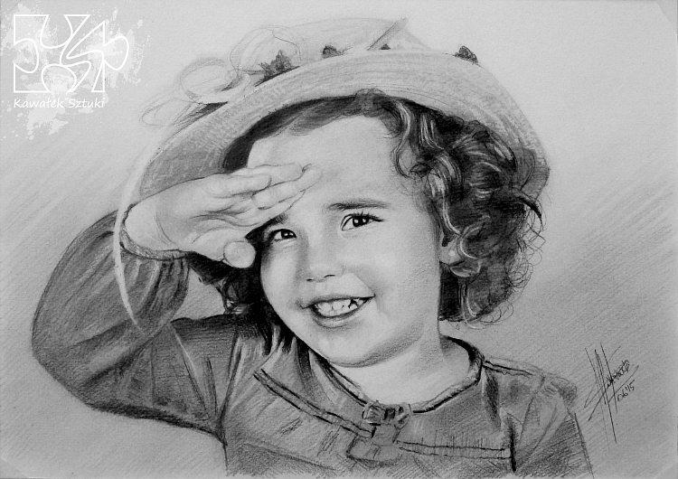 portret narysowany ołówkiem 10