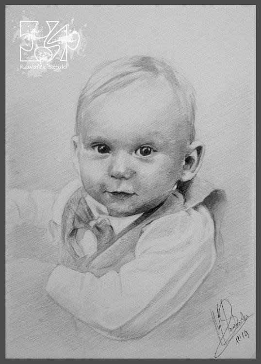portret narysowany ołówkiem 11