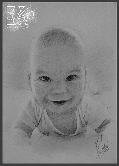 portret narysowany ołówkiem 13