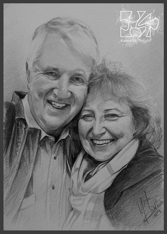 portret narysowany ołówkiem 14