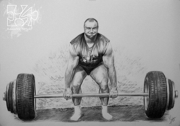 portret narysowany węglem 5
