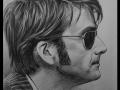 portret narysowany ołówkiem 2