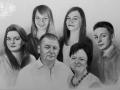 portret narysowany ołówkiem 22