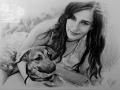 portret narysowany ołówkiem 26