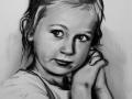 portret narysowany pastelami 3