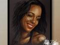 portret na zamowienie suchy pastel alicja keys
