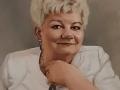 Portret wykonany na zamowienie w kolorze akryl na płótnie lnianym kobieta malarstwo 40x60