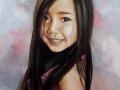 portret na zamówienie pastelami suchymi dziewczynka 65x50