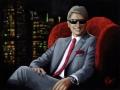 Portret farbami akrylowymi na płótnie malarstwo 60x80 na zamowienie