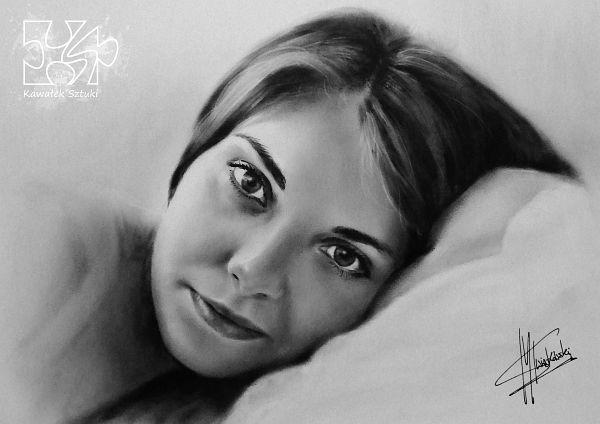portret na zamowienie suchy pedzel A2 2