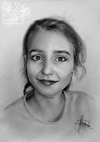 portret na zamowienie suchy pedzel A3 2